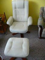 Sessel-Hocker-Set
