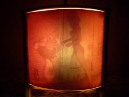 Foto 2 ''Sexy''-Nachttischlampe