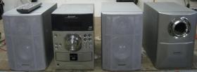 Sharp Xl-DV 50H DVD / CD 5-fach-Wechsler Anlage