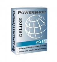Shopsoftware, Webshop, E-Shop Powershop DeLuxe 2011 NP 999,00 €