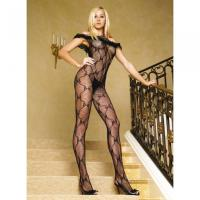 Shoulder Bodystocking - Schwarz - Leg Avenue - Gr. S-L - Neu & OVP