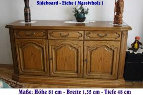 Sideboard in Eiche rustikal in Topzustand !!!