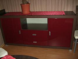 Sideboard Highboard Vitrine TV Unterschrank 2 Regale von Porta
