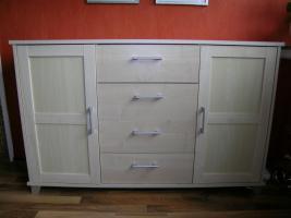 Sideboard, Birkefurnier