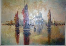 Sie suchen ein Meisterwerk?    Venedig Ölgemälde