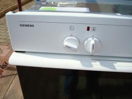 Foto 3 Siemens Einbauelektroherd mit Cerankochfeld
