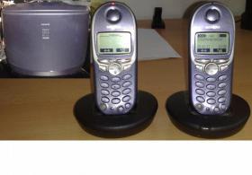 Siemens Gigaset 4015 mit AB und 2 Telefone 4000 Micro inkl. Ladeschalen