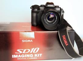 Foto 3 Sigma SD 10 Spiegelreflex. inkl. Sigma Zoom 28-105 mm Objektiv