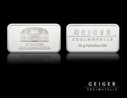 Silberbarren 50g  999/Feinsilber