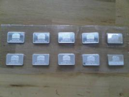 Silberbarren 999 Feinsilber 1 Unze