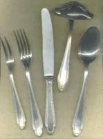 Foto 2 Silberbesteck Solingen - 100 g Silberauflage