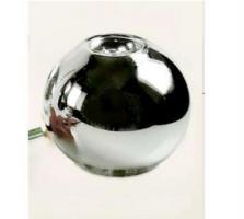 Silberglas Bauernsilber Kugelvase H 12 cm