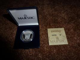 Foto 2 Silbermünze mit Zertifikat abzugeben