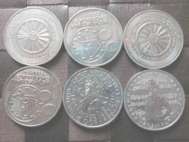 Silbermünzen 1900 bis 2002
