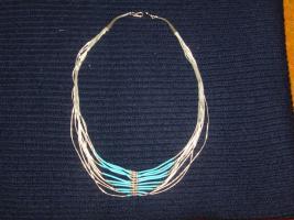Foto 3 Silberschmuck mit Türkisen/ Navajo-Indianer