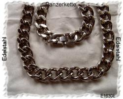 Silberschmuck, Edelstahlschmuck