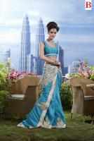 Foto 2 Silk Sari mit Blusenstoff New Fashion