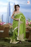 Foto 3 Silk Sari mit Blusenstoff New Fashion