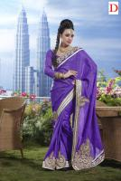Foto 4 Silk Sari mit Blusenstoff New Fashion