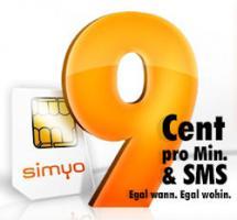 Simyo Sim-Karte für 4,90€ inkl 5€ Guthaben Kein Vertrag