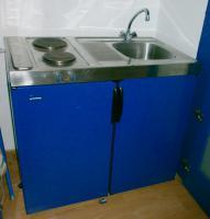Foto 2 Single Küche blau
