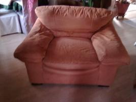 Foto 3 Sitzchouch 3-tlg. Farbe Lachs