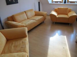 Sitzgarnitur 3 Sitzer und 2 Sessel