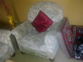 Foto 3 Sitzgarnitur 3er und 2 Sessel