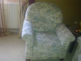 Foto 4 Sitzgarnitur 3er und 2 Sessel