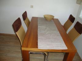 Sitzgruppe inkl. 5 Schwingsessel