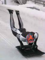 Skeleton fahren - Olympiabobbahn Igls