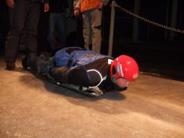 Foto 2 Skeleton fahren - Olympiabobbahn Igls