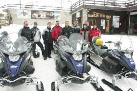 Foto 3 Skidoo fahren mit der Agentur Spezial GmbH