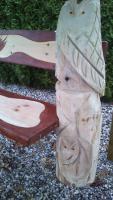 Foto 3 Skulpturen aus Holz