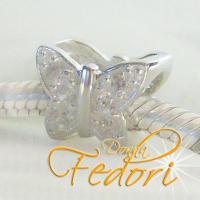 Slider Farfalla 925 Sterling Silber