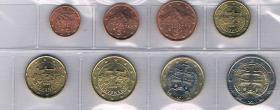 Foto 2 Slowakei Euro Kursmünzensatz !