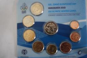 Slowakei KMS 2010 Motiv : XXI Olymp Winter Games