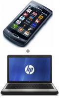 Smartphone mit Laptop