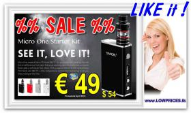Smok Micro One E-Cig TC 80W TFv4 Micro Full-Kit nur € 49
