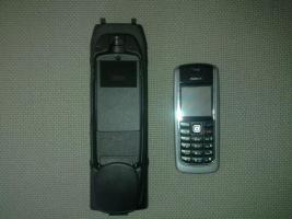 Snap in Adapter mit Nokia Handy für 3 BMW E 90