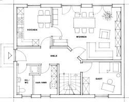 Einfamilienhaus Mit Kniestock Grundriss Eg