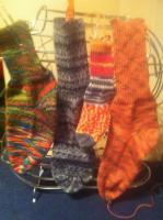 Foto 3 Socken aus Naturwolle