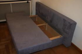 Foto 3 Sofa Bett zum ausklappen