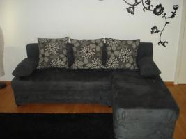 Foto 2 Sofa/Couch mit Bettfunktion von OTTO mit passendem Beistelltisch