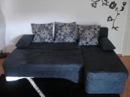 Foto 3 Sofa/Couch mit Bettfunktion von OTTO mit passendem Beistelltisch