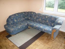 Sofa-Rundecke mit Bettkasten und Schlaffunktion