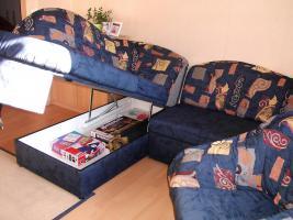 Foto 4 Sofa mit Schlaffunktion und Sessel