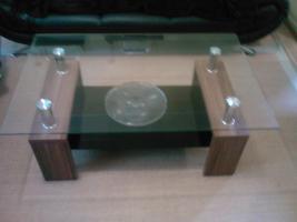 Foto 5 Sofa  1. 2. 3 und Anbauwand und ein Glastisch