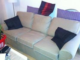 Sofa,3er mit Schlaffunktion