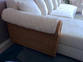 Foto 2 Sofa, mit Bettfunktion und Bettkasten